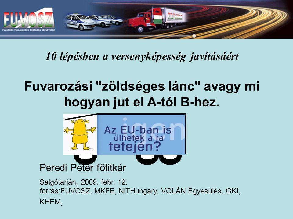 Peredi Péter főtitkár Salgótarján, 2009. febr. 12.
