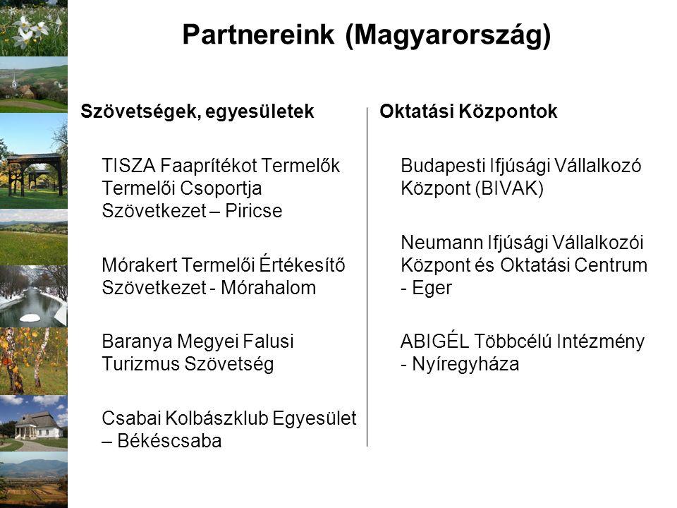 Szövetségek, egyesületek TISZA Faaprítékot Termelők Termelői Csoportja Szövetkezet – Piricse Mórakert Termelői Értékesítő Szövetkezet - Mórahalom Bara