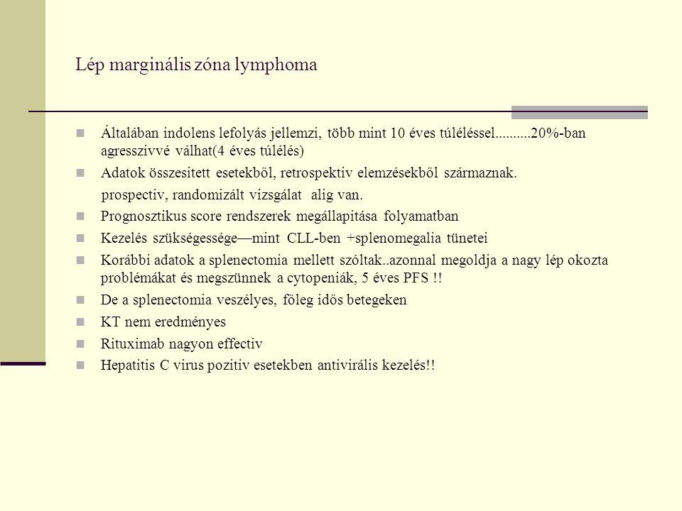 Splenectomia versus Rituximab az irodalomban