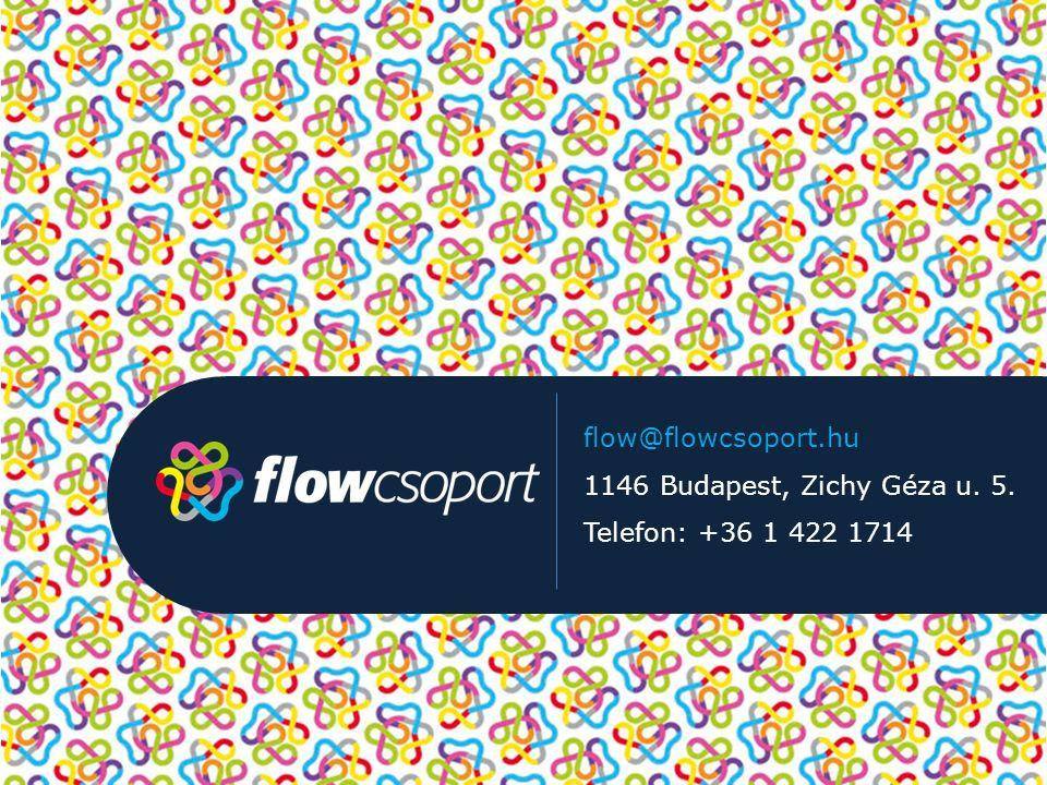 flow@flowcsoport.hu 1146 Budapest, Zichy Géza u. 5. Telefon: +36 1 422 1714