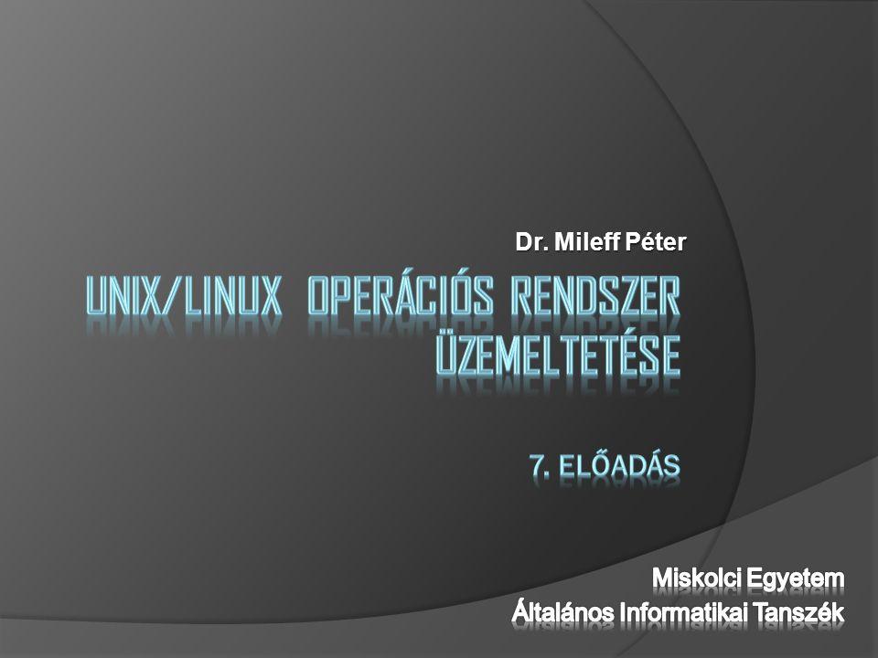 Dr. Mileff Péter