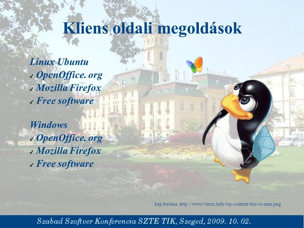 Linux Ubuntu ✔ OpenOffice. org ✔ Mozilla Firefox ✔ Free software Windows ✔ OpenOffice.