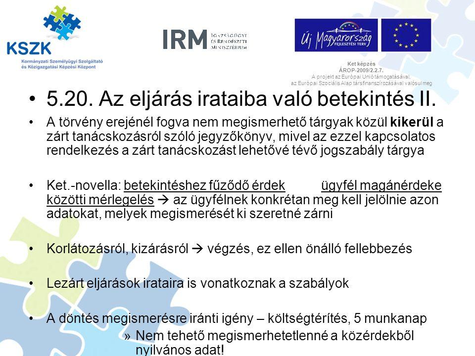 Ket képzés ÁROP-2009/2.2.7.