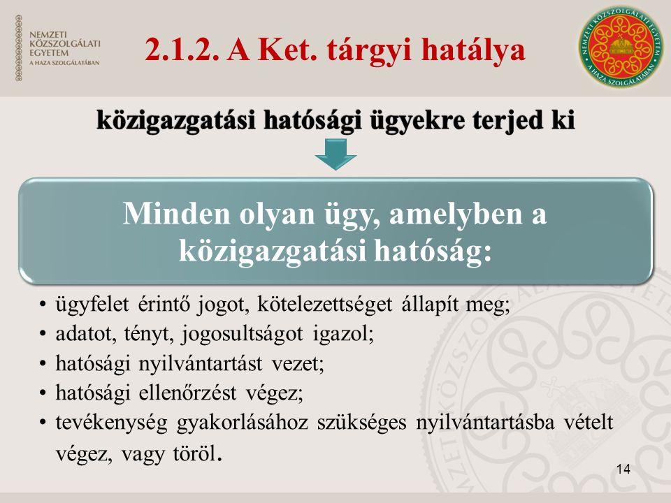 2.1.2. A Ket.