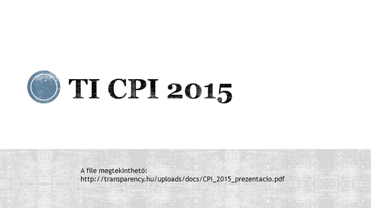 A file megtekinthető: http://transparency.hu/uploads/docs/CPI_2015_prezentacio.pdf