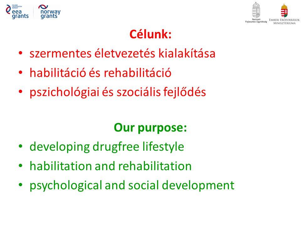 Készek vagyunk minden élethelyzettel kapcsolatosan, akár a legextrémebb problémák megoldásában is (legyen az egészségügyi-, pszichológiai-, szociális-, jogi-, pedagógiai- vagy bármi egyéb természetű) eredményorientáltan segíteni.
