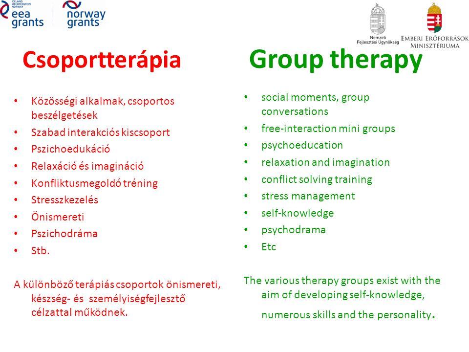 Szakorvosi (általános és pszichiátriai) állapotfelmérés szükség szerinti kezelések Medical (General and Psychiatric): check up treatments as needed
