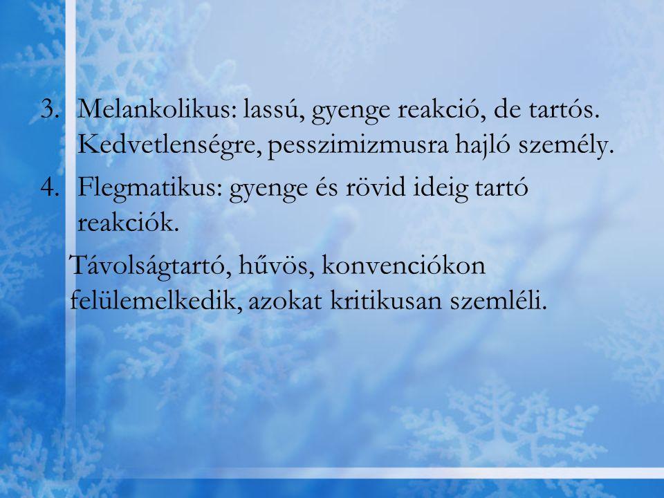-A belső harmóniát e három összetevő viszonya határozza meg -Patológiás állapotokban: ennek a viszonynak a különféle torzulásai -Lelki egészség: a reális és én az önkép közötti megfelelés -Önkép: önmagunkkal kapcsolatos ismeretek rendszere, beállítások együttese, elvárások rendszere is -Szelektív figyelmi preferencia → biztosítja az énkép stabilitását
