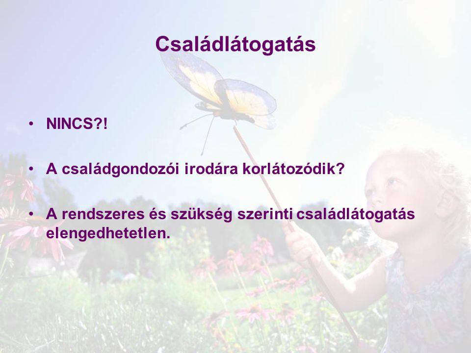 Családlátogatás NINCS?! A családgondozói irodára korlátozódik? A rendszeres és szükség szerinti családlátogatás elengedhetetlen.