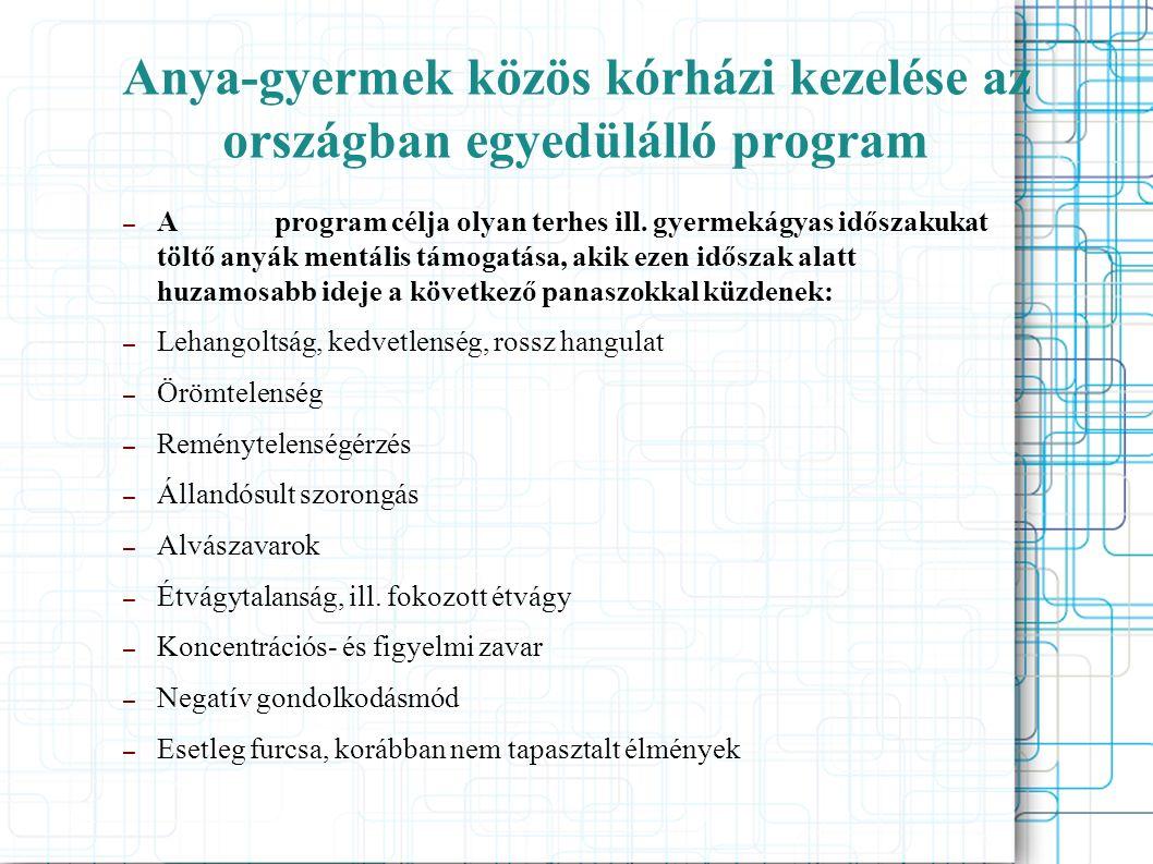 A program ötlete Heppenheimi klinika ● Dr.