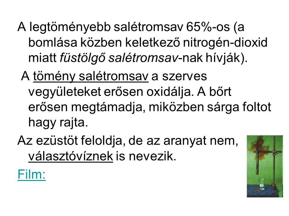 cc.Salétromsav és cc.