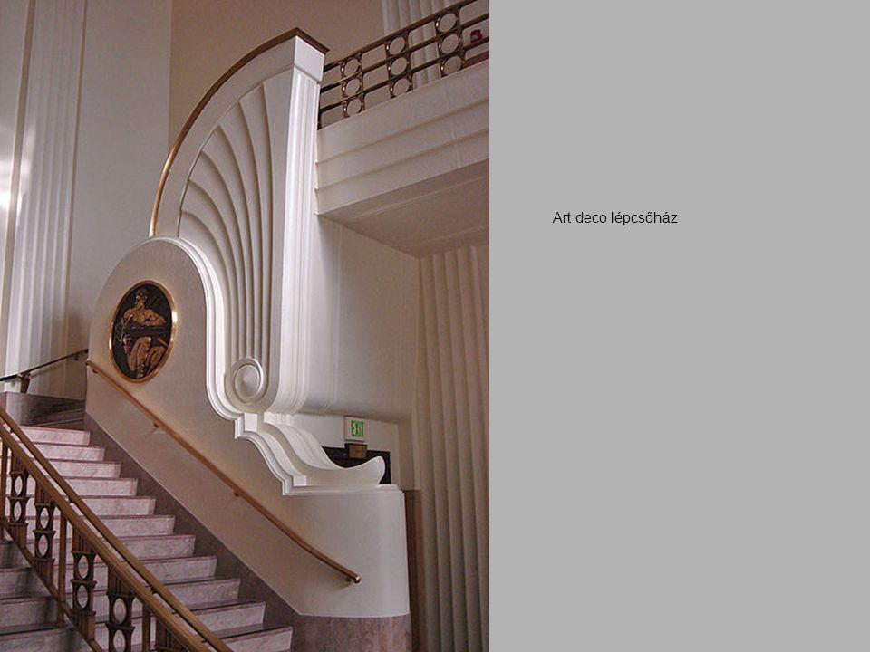 Art deco lépcsőház