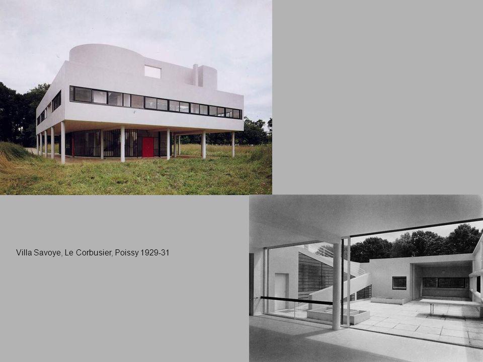 Villa Savoye, Le Corbusier, Poissy 1929-31