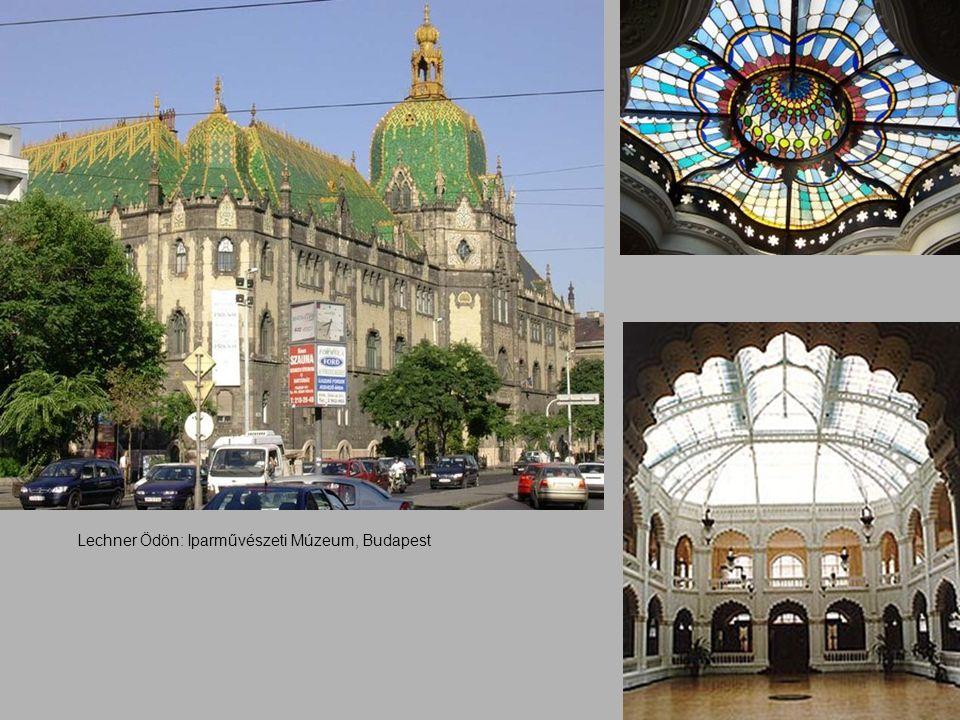 Lechner Ödön: Iparművészeti Múzeum, Budapest