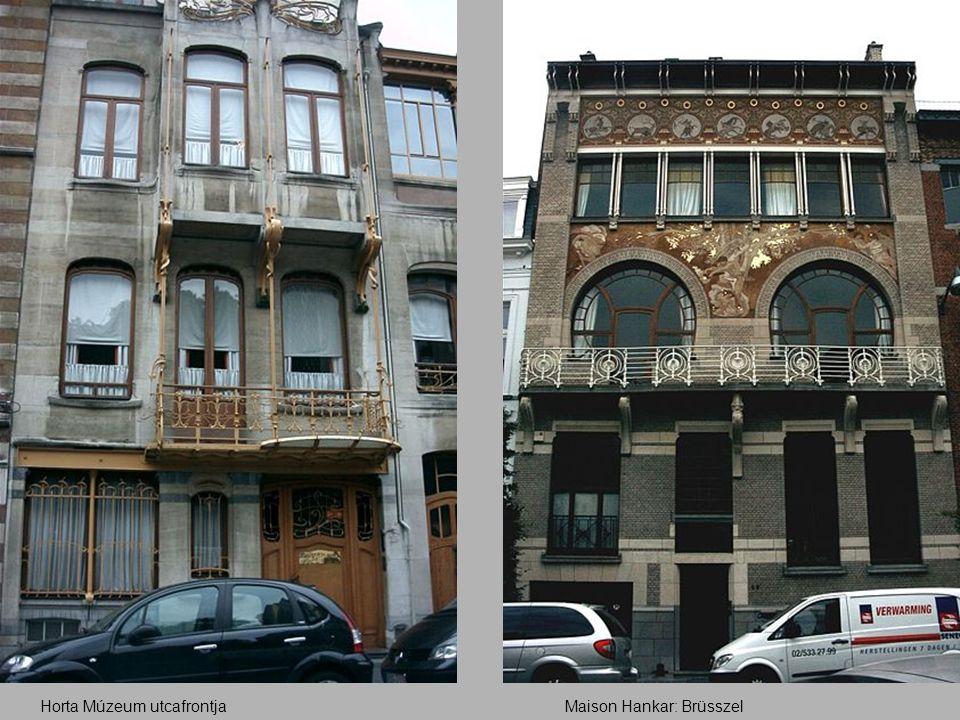 Maison Hankar: BrüsszelHorta Múzeum utcafrontja