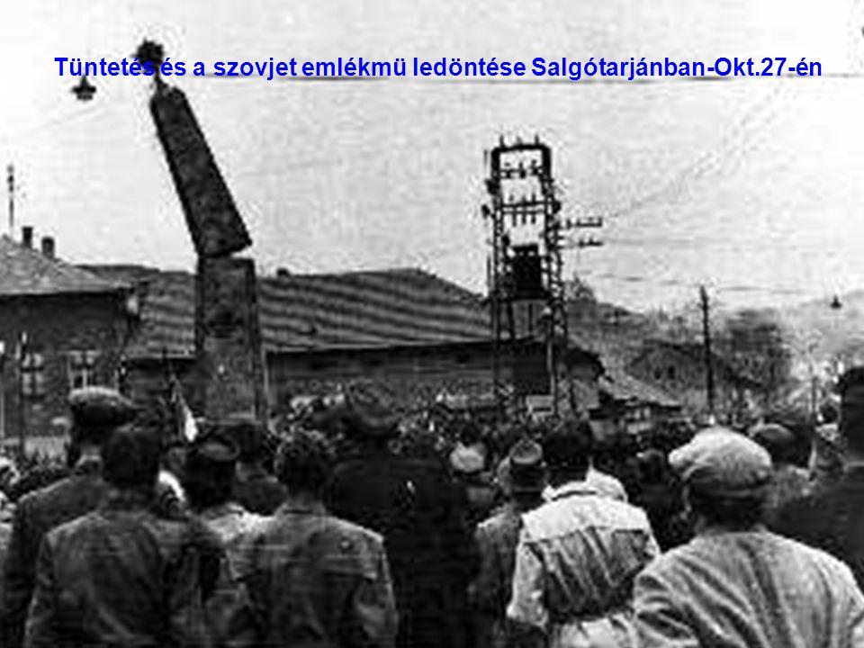 12 Tüntetés Györött – Okt.26-án