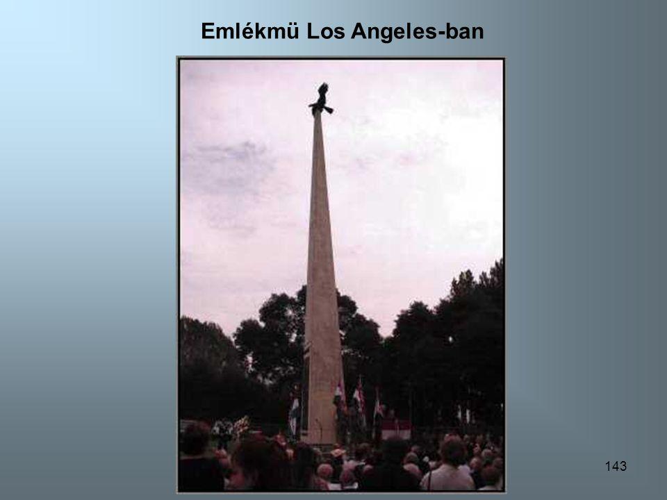 142 Emlékmü Los Angeles-ben