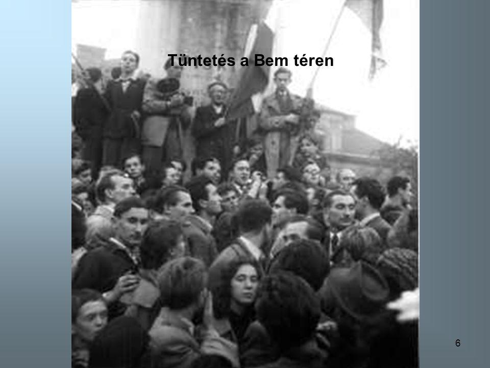 6 Tüntetés a Bem téren