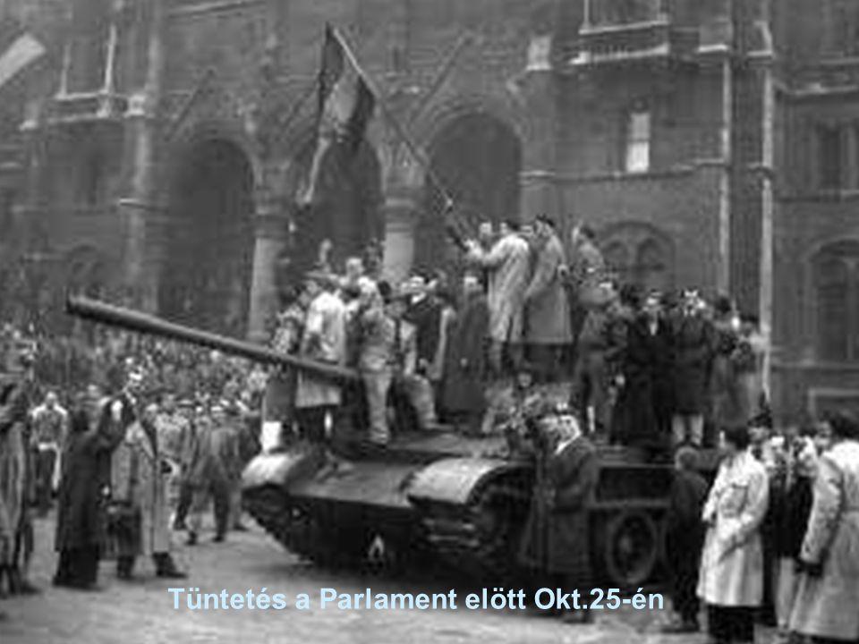 8 Tüntetés a Parlament elött Okt.25-én