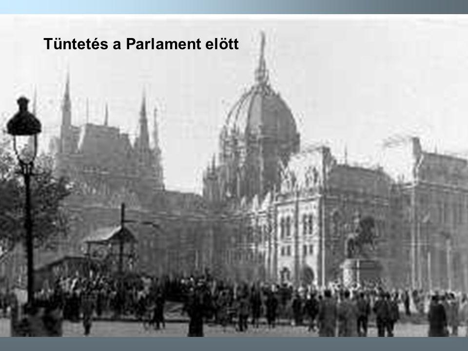9 Tüntetés a Parlament elött
