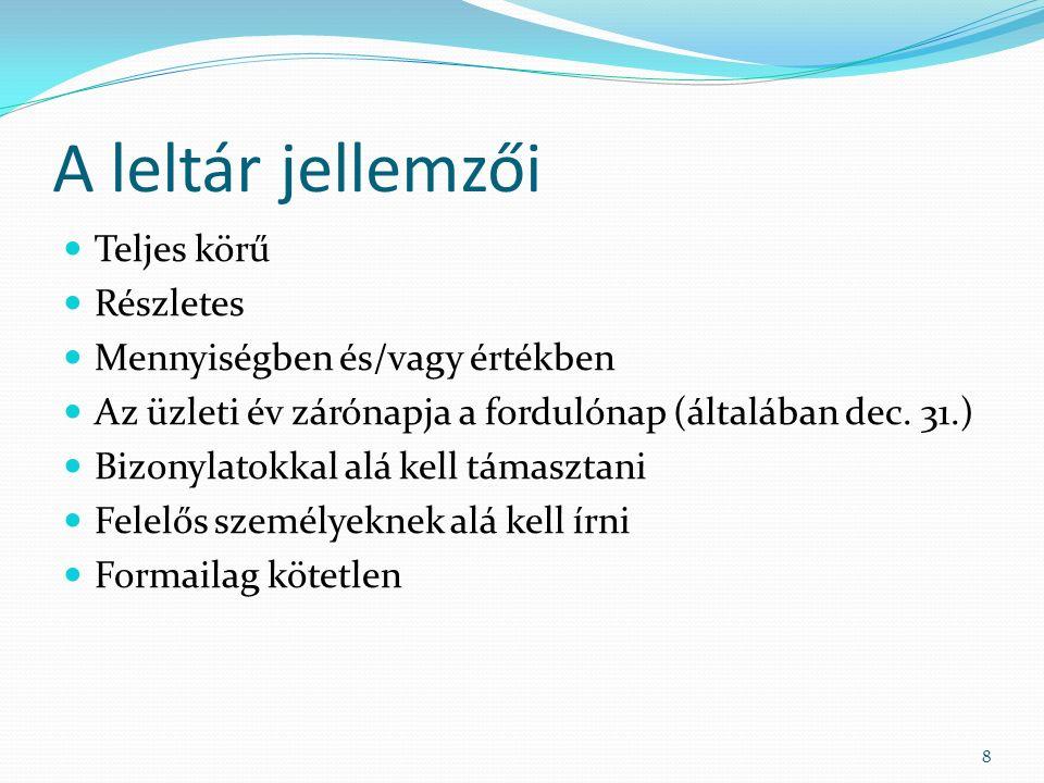 FORGÓESZKÖZÖK I.