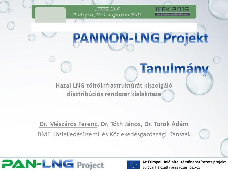 1.LNG szállítási technológiák bemutatása 2.Disztribúciós teljesítmény becslése 3.Optimális disztribúció meghatározása 4.Következtetések Hazai LNG töltőinfrastruktúrát kiszolgáló disztribúciós rendszer kialakítása Tartalom