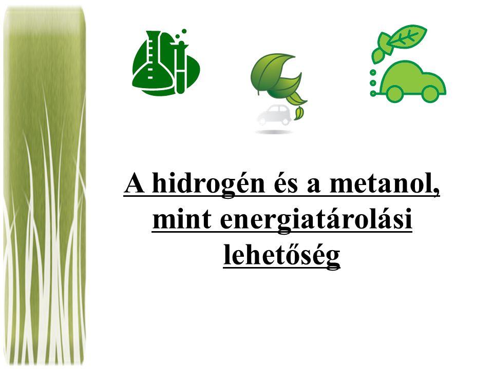 A hidrogén és a metanol, mint energiatárolási lehetőség