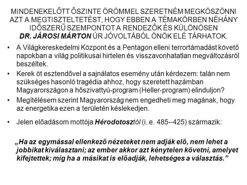 GÁZMOTOROS LEVEGŐ-VÍZ HŐSZIVATTYÚS RENDSZER