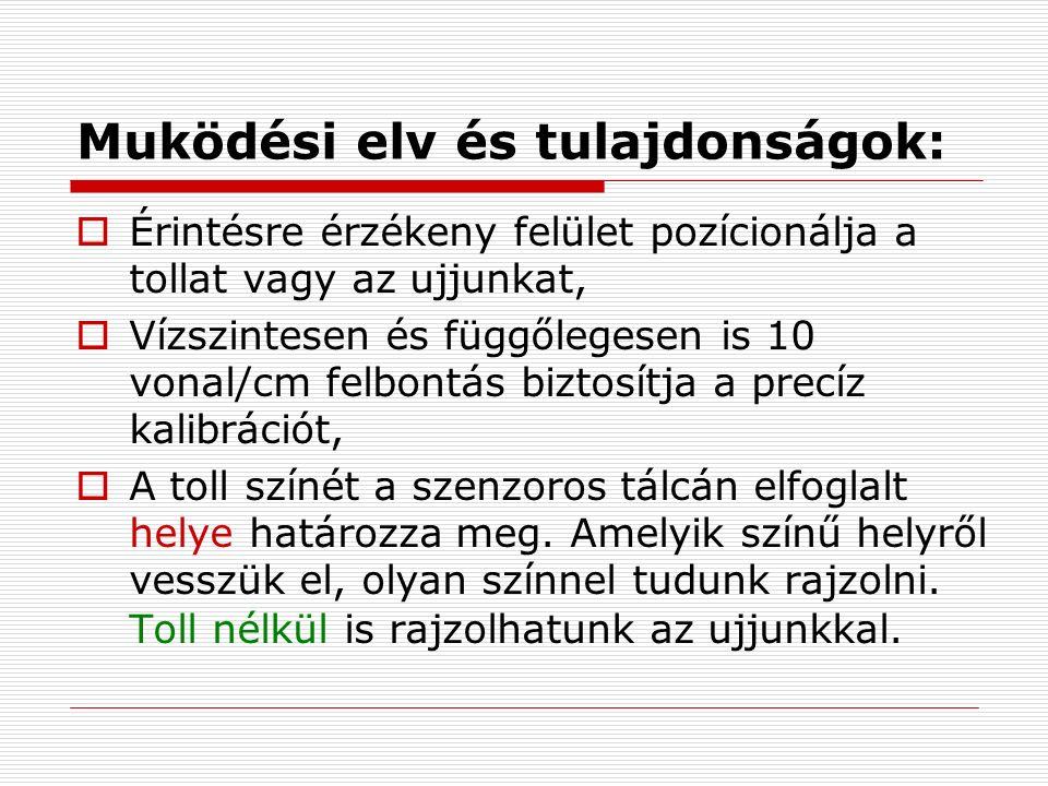 SMART Notebook szoftvercsomag - a tábla prezentációs magyar nyelvű alapszoftvere