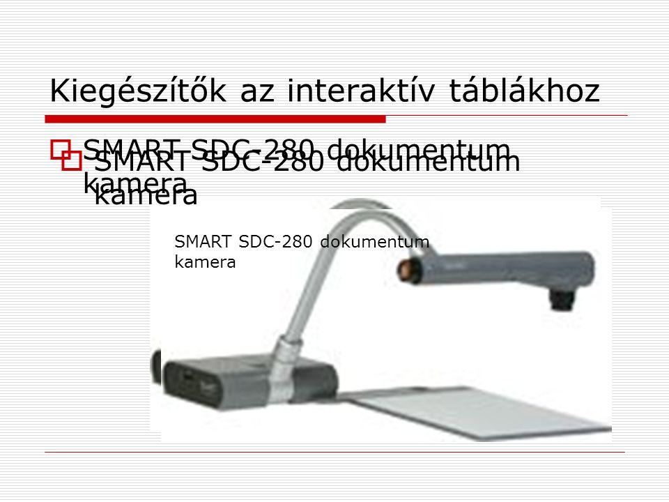 Kiegészítők az interaktív táblákhoz  SMART SDC-280 dokumentum kamera SMART SDC-280 dokumentum kamera