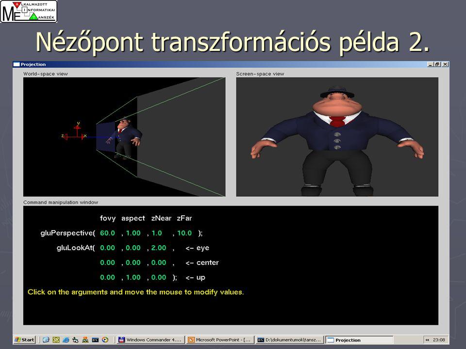29 Nézőpont transzformációs példa 2.