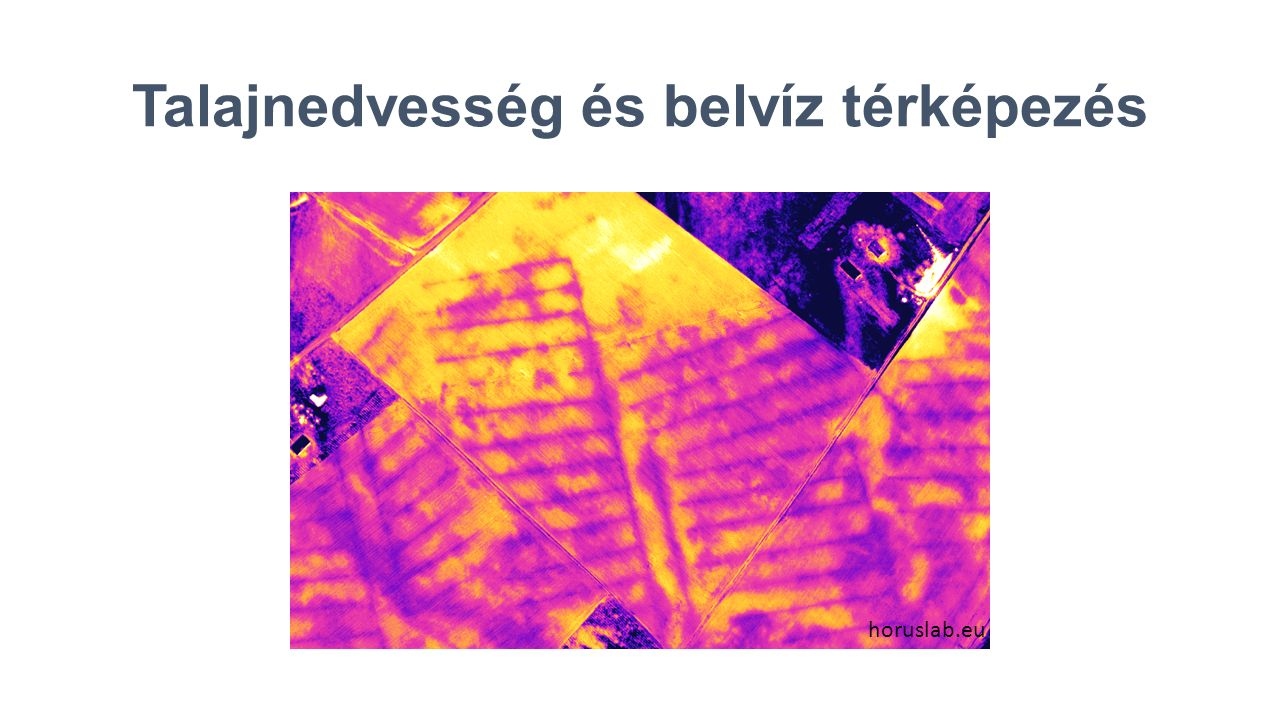 Talajnedvesség és belvíz térképezés horuslab.eu