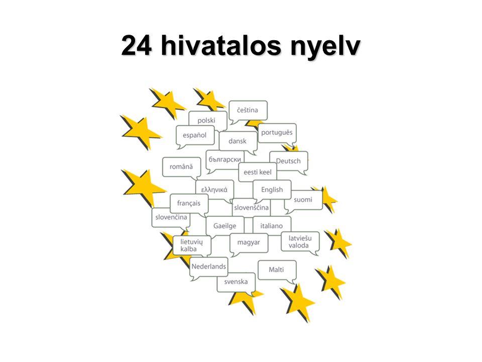 24 hivatalos nyelv