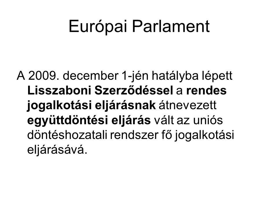 Európai Parlament A 2009.