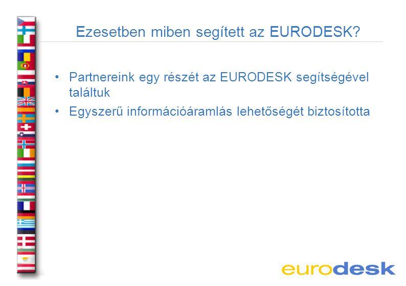 Ezesetben miben segített az EURODESK.