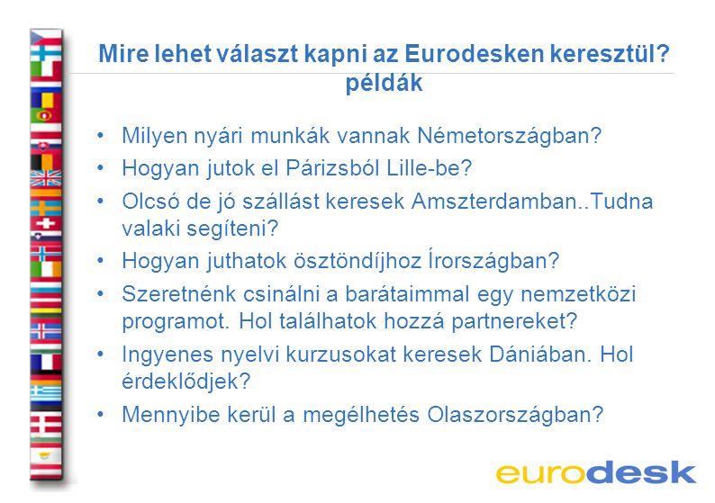 Mi hivatalosan az Eurodesk.