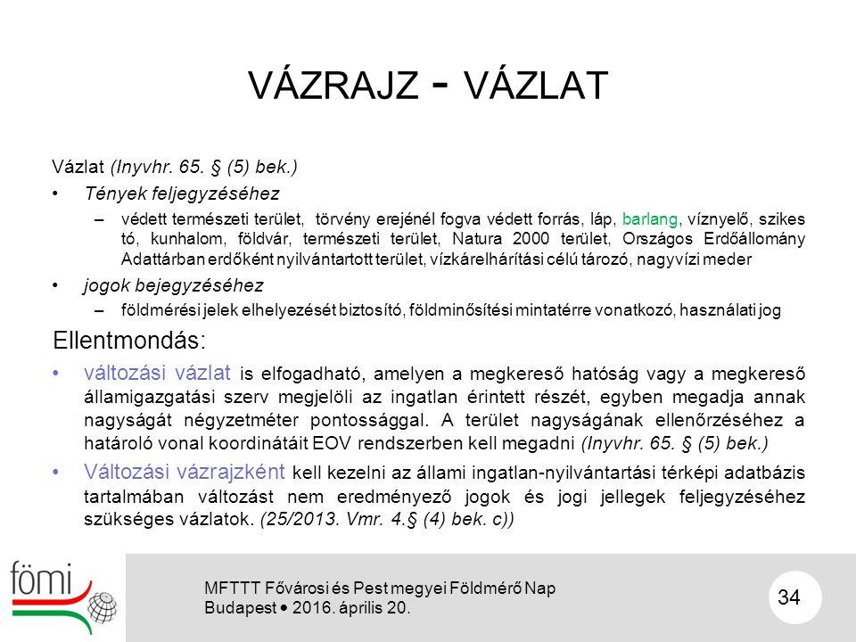 VÁZRAJZ - VÁZLAT Vázlat (Inyvhr. 65.