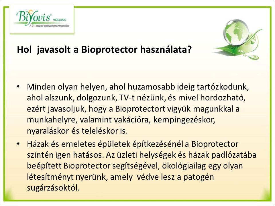 Termékeink: Bioprotector Home A Bioprotector hatósugara minimum 7 méter.