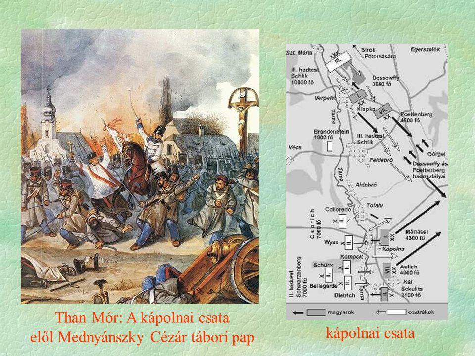 kápolnai csata Than Mór: A kápolnai csata elől Mednyánszky Cézár tábori pap