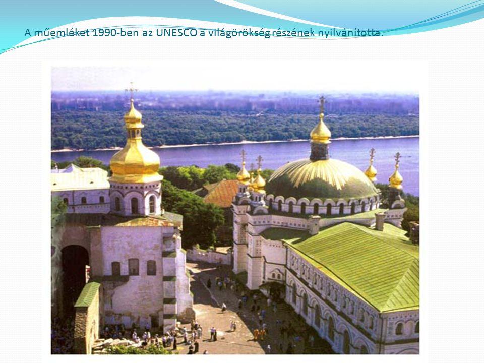 A műemléket 1990-ben az UNESCO a világörökség részének nyilvánította.