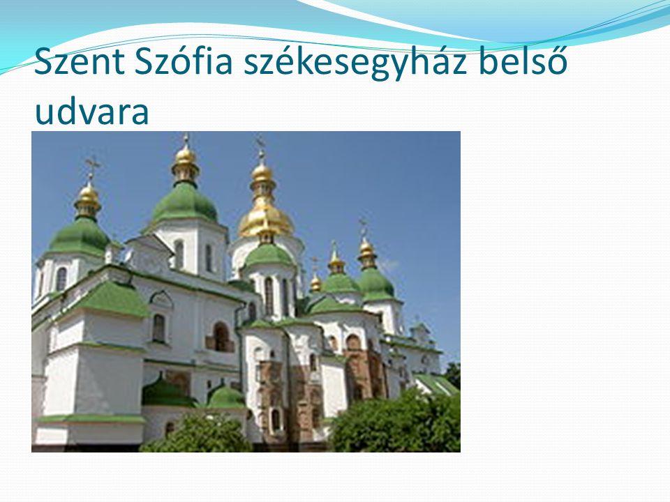 Szent Szófia székesegyház belső udvara