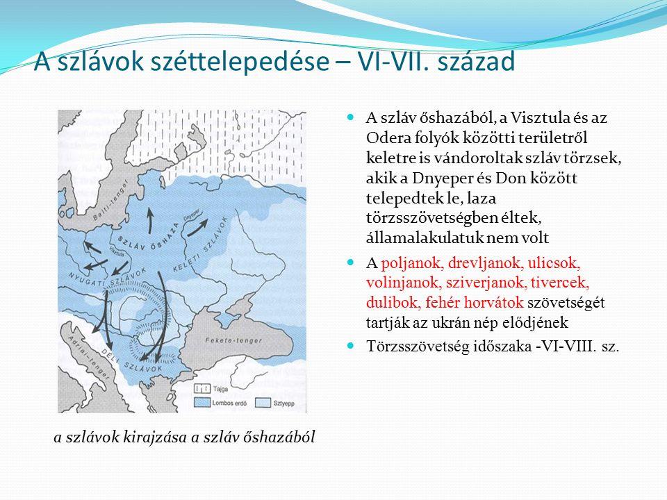 A Kijevi Rusz létrejötte Létrejöttének körülményeiről nagyon kevés írott forrás van Normann – anti-normann elmélet A novgorodi államot Rusznak nevezték el, ami egy svédországi területre utal.