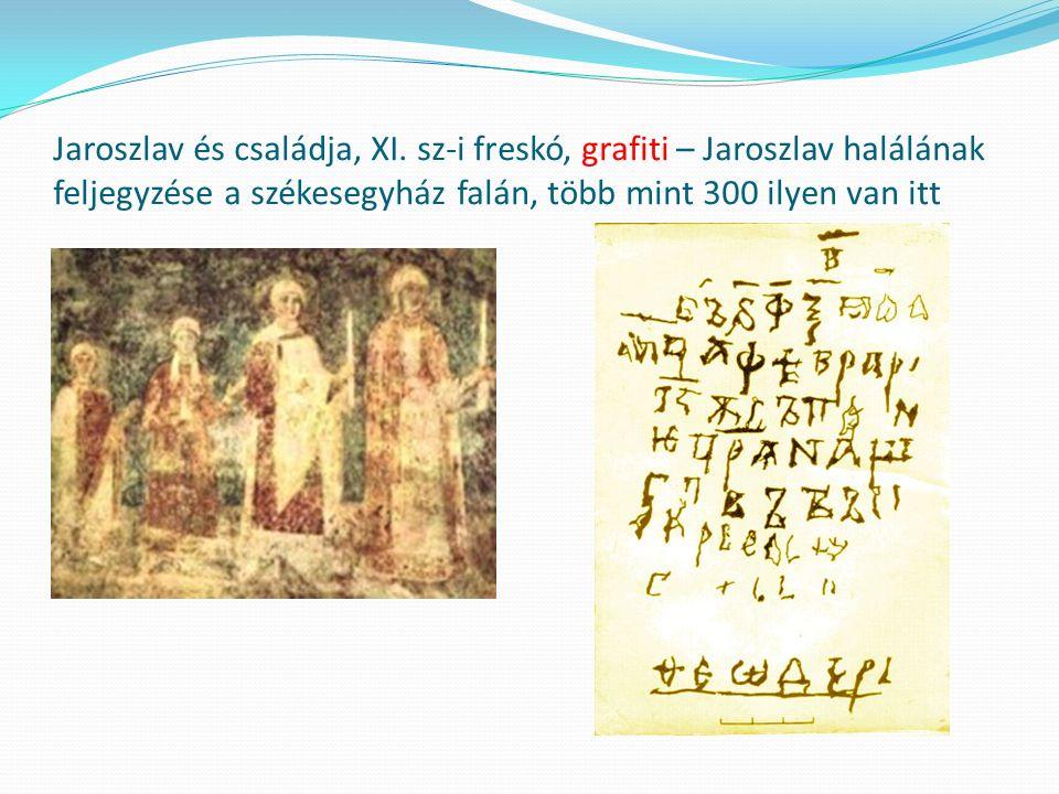 Jaroszlav és családja, XI.