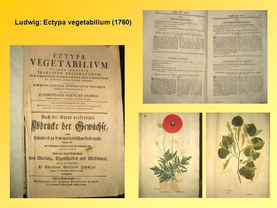 Ludwig: Ectypa vegetabilium (1760)