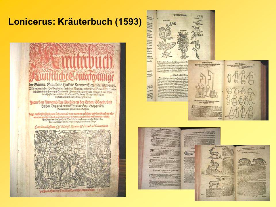 Matthiolus: Commentari..Dioscorides (1554) Matthiolus: Dioszkoridész Kommentár (1583)