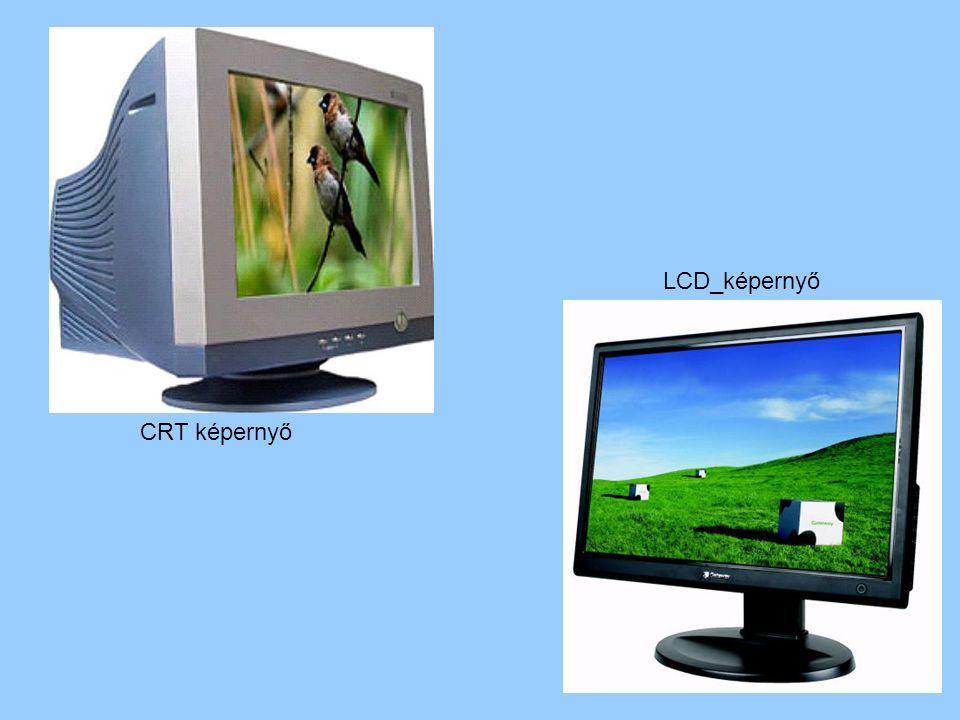 CRT képernyő LCD_képernyő