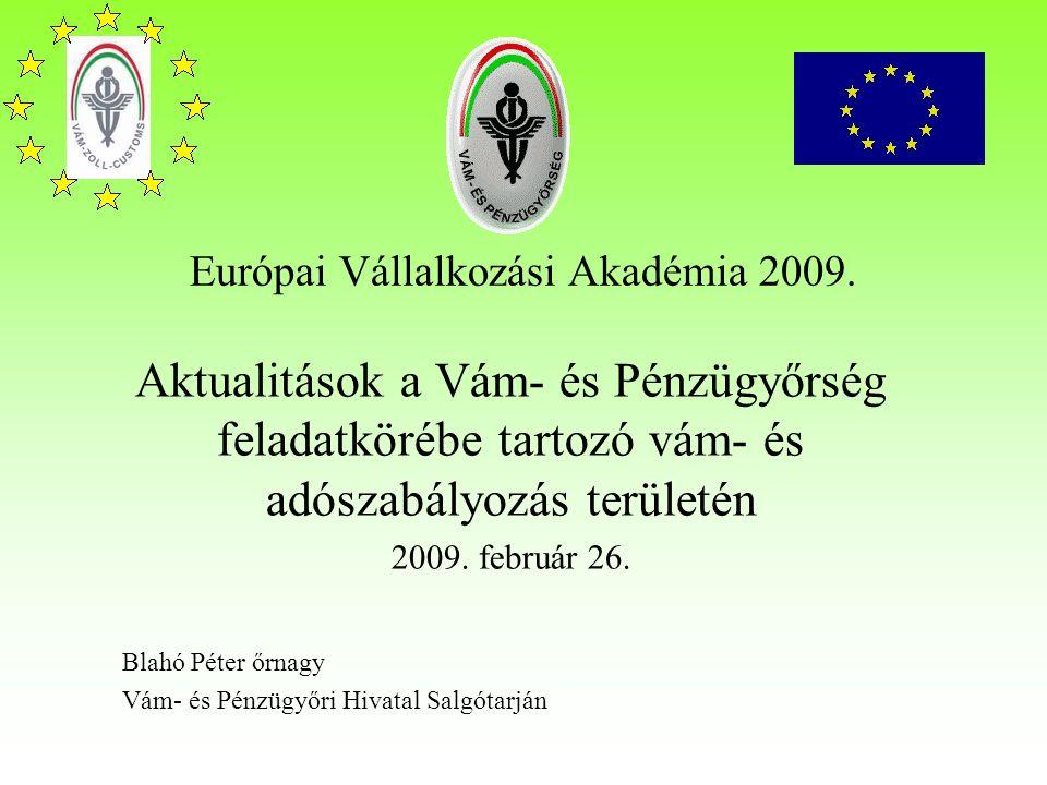 Európai Vállalkozási Akadémia 2009.