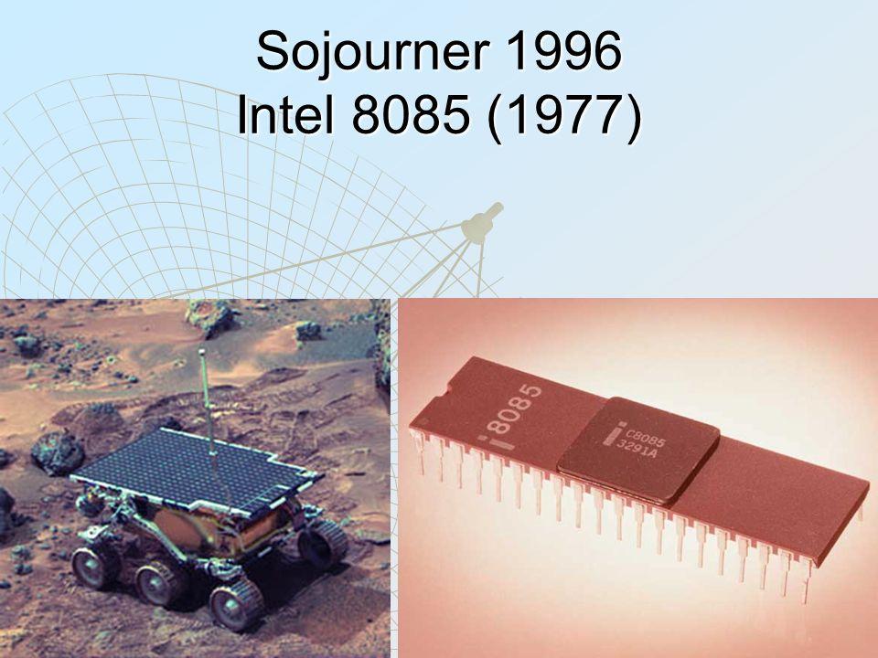 Sojourner 1996 Intel 8085 (1977)