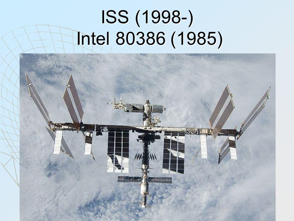 ISS (1998-) Intel 80386 (1985)