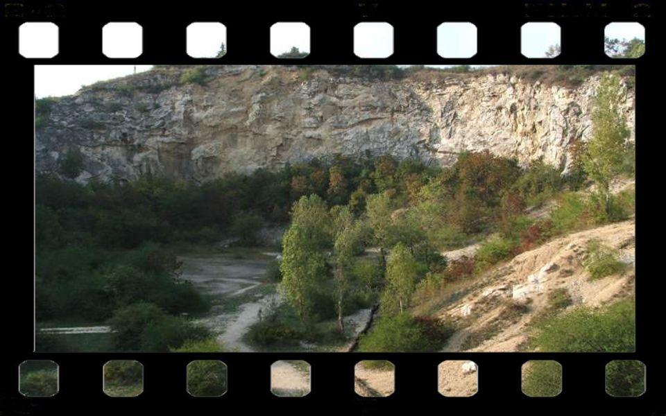 A róka-hegyi felhagyott kőbánya Budapest és Üröm határánál található.